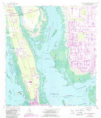 Download a high-resolution, GPS-compatible USGS topo map for Pine Island Center, FL (1988 edition)