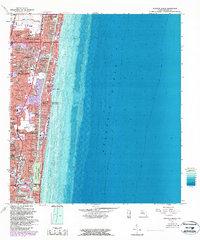 Map Of Pompano Beach Florida.Usgs 1 24000 Scale Quadrangle For Pompano Beach Fl 1962