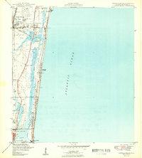 Map Of Pompano Beach Florida.Usgs 1 24000 Scale Quadrangle For Pompano Beach Fl 1949