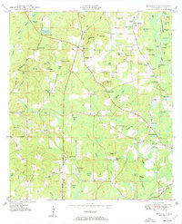 Download a high-resolution, GPS-compatible USGS topo map for Prosperity, FL (1950 edition)