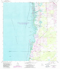 Download a high-resolution, GPS-compatible USGS topo map for Punta Gorda Se, FL (1988 edition)