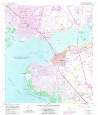 Download a high-resolution, GPS-compatible USGS topo map for Punta Gorda, FL (1988 edition)