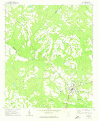 Download a high-resolution, GPS-compatible USGS topo map for Alamo, GA (1973 edition)