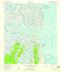 Download a high-resolution, GPS-compatible USGS topo map for Altamaha Sound, GA (1959 edition)