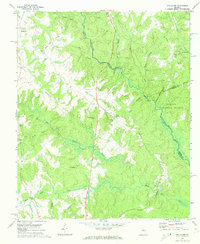 Download a high-resolution, GPS-compatible USGS topo map for Apalachee, GA (1974 edition)