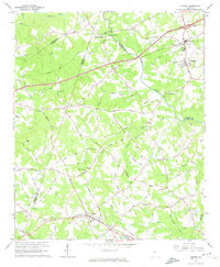 Download a high-resolution, GPS-compatible USGS topo map for Auburn, GA (1974 edition)