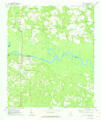 Download a high-resolution, GPS-compatible USGS topo map for Baxley NE, GA (1974 edition)