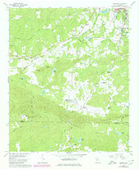 Download a high-resolution, GPS-compatible USGS topo map for Benedict, GA (1980 edition)