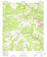 Download a high-resolution, GPS-compatible USGS topo map for Blythe, GA (1981 edition)