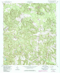 Download a high-resolution, GPS-compatible USGS topo map for Buena Vista NE, GA (1986 edition)