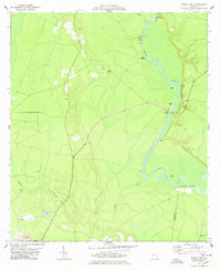 Download a high-resolution, GPS-compatible USGS topo map for Burnt Fort, GA (1978 edition)