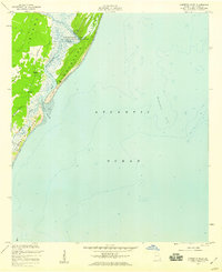 Download a high-resolution, GPS-compatible USGS topo map for Cabretta Inlet, GA (1959 edition)