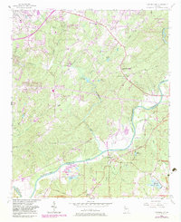 Download a high-resolution, GPS-compatible USGS topo map for Campbellton, GA (1983 edition)