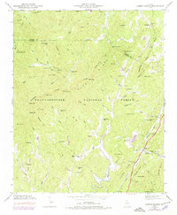 Download a high-resolution, GPS-compatible USGS topo map for Cashes Valley, GA (1975 edition)