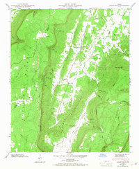 Download a high-resolution, GPS-compatible USGS topo map for Cedar Grove, GA (1968 edition)