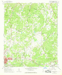 Download a high-resolution, GPS-compatible USGS topo map for Cedartown East, GA (1968 edition)