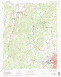 Download a high-resolution, GPS-compatible USGS topo map for Cedartown West, GA (1980 edition)