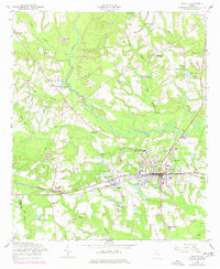 Download a high-resolution, GPS-compatible USGS topo map for Claxton, GA (1977 edition)