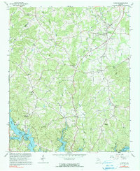 Download a high-resolution, GPS-compatible USGS topo map for Clermont, GA (1990 edition)