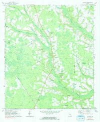 Download a high-resolution, GPS-compatible USGS topo map for Crawley, GA (1991 edition)