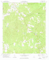 Download a high-resolution, GPS-compatible USGS topo map for Culloden, GA (1976 edition)