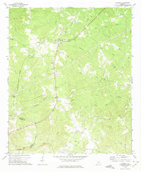 Download a high-resolution, GPS-compatible USGS topo map for Devereux, GA (1975 edition)