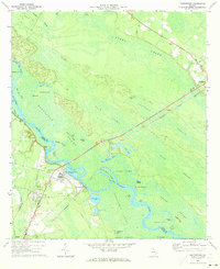 Download a high-resolution, GPS-compatible USGS topo map for Doctortown, GA (1973 edition)