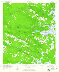 Download a high-resolution, GPS-compatible USGS topo map for Dorchester, GA (1961 edition)