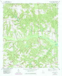 Download a high-resolution, GPS-compatible USGS topo map for Ellaville North, GA (1985 edition)