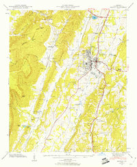 Download a high-resolution, GPS-compatible USGS topo map for Estelle, GA (1960 edition)