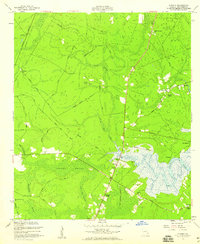Download a high-resolution, GPS-compatible USGS topo map for Eulonia, GA (1959 edition)