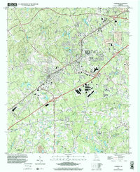 Download a high-resolution, GPS-compatible USGS topo map for Fairburn, GA (2002 edition)