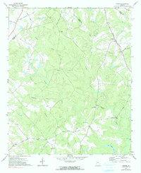 Download a high-resolution, GPS-compatible USGS topo map for Farrar, GA (1991 edition)