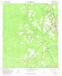 Download a high-resolution, GPS-compatible USGS topo map for Folkston, GA (1981 edition)