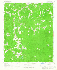 Download a high-resolution, GPS-compatible USGS topo map for Glenn, GA (1966 edition)