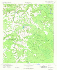 Download a high-resolution, GPS-compatible USGS topo map for Glissons Millpond, GA (1969 edition)
