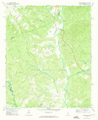 Download a high-resolution, GPS-compatible USGS topo map for Greshamville, GA (1974 edition)