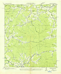 Download a high-resolution, GPS-compatible USGS topo map for Gumlog, GA (1935 edition)