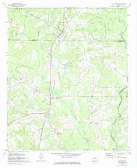 Download a high-resolution, GPS-compatible USGS topo map for Haralson, GA (1984 edition)