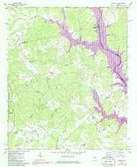 Download a high-resolution, GPS-compatible USGS topo map for Harmony, GA (1985 edition)