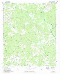 Download a high-resolution, GPS-compatible USGS topo map for Harmony, GA (1984 edition)