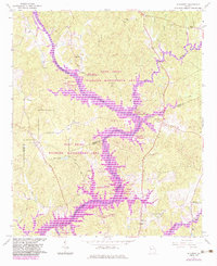 Download a high-resolution, GPS-compatible USGS topo map for Hillcrest, GA (1983 edition)