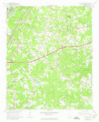 Download a high-resolution, GPS-compatible USGS topo map for Hog Mountain, GA (1974 edition)