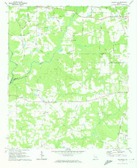 Download a high-resolution, GPS-compatible USGS topo map for Hollonville, GA (1973 edition)