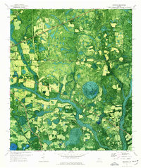 Download a high-resolution, GPS-compatible USGS topo map for Indianola, GA (1976 edition)