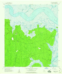 Download a high-resolution, GPS-compatible USGS topo map for Kingsland NE, GA (1959 edition)