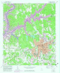Download a high-resolution, GPS-compatible USGS topo map for La Grange, GA (1983 edition)
