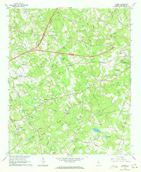 Download a high-resolution, GPS-compatible USGS topo map for Luxomni, GA (1972 edition)