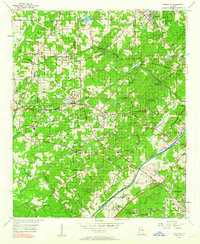 Download a high-resolution, GPS-compatible USGS topo map for Mableton, GA (1962 edition)
