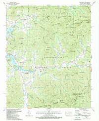 Download a high-resolution, GPS-compatible USGS topo map for Macedonia, GA (1988 edition)